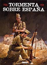 Book Cover: Tormenta sobre España